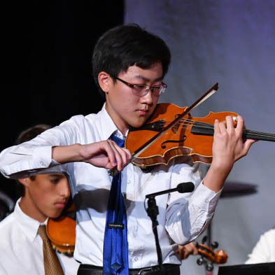 Upper School Band and Orchestra Students Honored