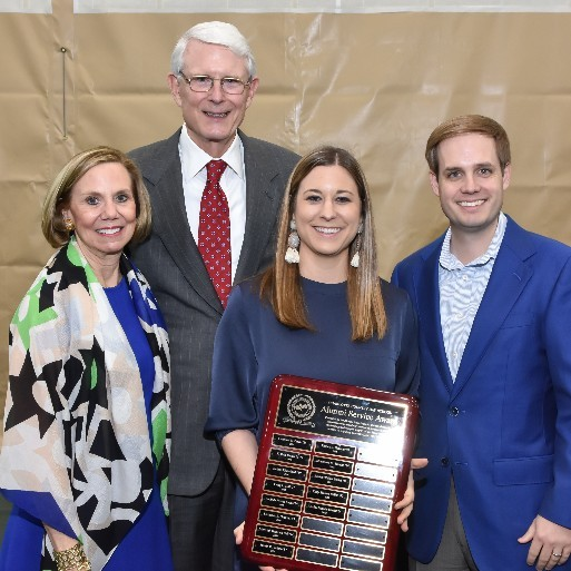 Caroline McGuire Winslett '04 Honored with the Alumni Service Award